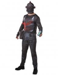 Fortnite™-Black Knight Lizenzkostüm für Erwachsene schwarz