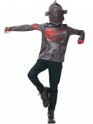 Fortnite™-Black Knight T-Shirt Kostümzubehör Jugendliche