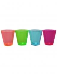 Party-Trinkbecher Tischzubehör 50 Stück bunt 30ml