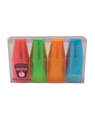 Shotbecher-Set 60-teilig 59ml bunt