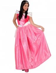 Hübsche Prinzessin Damenkostüm Märchen rosa-weiss