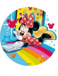 Tortenaufleger Minnie Maus™-Kindergeburtstag bunt 18,5cm