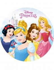 Disney™-Prinzessinnen Tortenaufleger Kuchendeko bunt 18,5cm