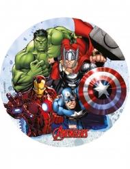 Avengers™-Tortenaufleger Superhelden-Party bunt 18,5cm