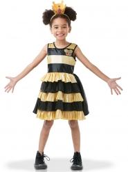 Queen Bee LOL Surprise™ Lizenz-Kostüm für Kinder schwarz-gelb