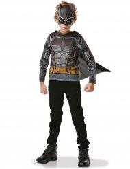 Batman™-Kostümzubehör für Jungen 3-teilig grau-schwarz-gelb