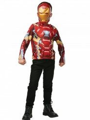 Iron Man™-Kostüm-Set Superheld 2-teilig rot-gold