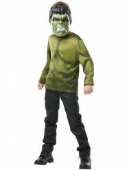 Hulk™-Kostüm-Set Oberteil und Maske Lizenz grün-schwarz