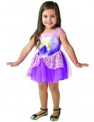 Rapunzel™-Mädchenkostüm Disney™-Ballerina lila-weiss