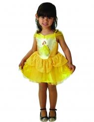 Belle™-Lizenzkostüm für Mädchen Disney™-Ballerina gelb
