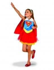 DC Supergirl™-Kinderkostüm Superheldin Blau-Rot-Gelb