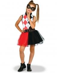 DC Harley Quinn™-Mädchenkostüm schwarz-rot-weiss