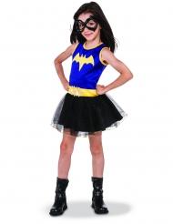 DC Batgirl™-Mädchenkostüm Superheldin schwarz-gelb-blau