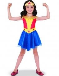 DC Wonder Woman™-Mädchenkostüm Blau-Gelb-rot