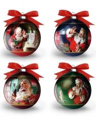 Coca Cola™-Weihnachtskugel bunt