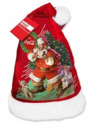 Coca Cola™-Weihnachtsmütze für Erwachsene rot-bunt