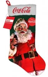 Leuchtender Weihnachtsstrumpf Coca Cola™ bunt