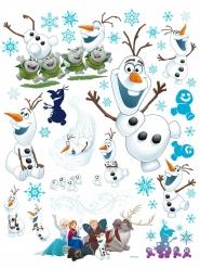 Fenstersticker Olaf™ weihnachtliche-Deko Frozen 42x30cm