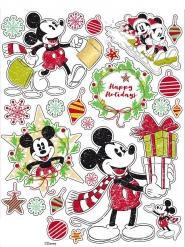 Mickey Maus™-Fensterdeko Disney-Aufkleber bunt 30x20cm