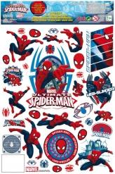 Spiderman™-Aufkleber für Fenster Deko für Kinder bunt 30x20cm