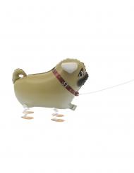 Aluminium-Ballon laufender Hund 55,8 cm