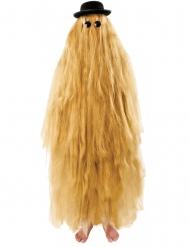 Haariger-Vetter-Kostüm für Erwachsene blond