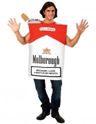 Zigarettenschachtel-Kostüm humorvolle-Verkleidung für Erwachsene bunt