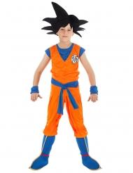 Son Goku™-Dragonball Z-Lizenzkostüm für Kinder orange-blau