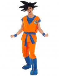 Son Goku-Herrenkostüm Lizenz von Dragonball Z™ orange