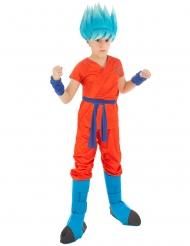 Dragonball Z™-Kinderkostüm Son Goku orange-blau