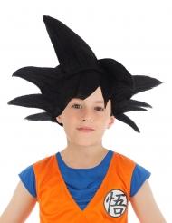 Manga-Perücke Son-Goku™ für Kinder Lizenz schwarz