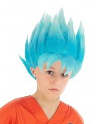 Goku™-Perücke für Kinder Dragon Ball Z™ blau