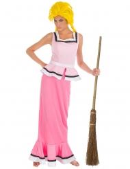 Asterix und Obelix™-Gutemine Damenkostüm rosa-weiss