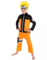 Naruto™-Kostüm für Kinder Lizenz orange-schwarz