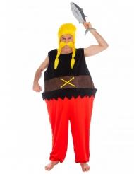 Verleihnix™-Kostüm für Herren Asterix und Obelix™ schwarz-rot