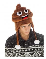 Witzige Kackhaufen Emoji™ Mütze für Erwachsene