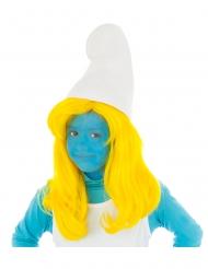 Schlumpfine™-Mädchen-Perücke Lizenz gelb
