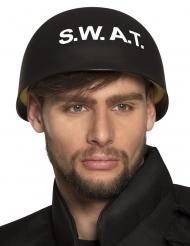 S.W.A.T Helm für Erwachsene Kostümzubehör schwarz-weiss