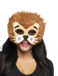 Löwen-Halbmaske Tiermaske Kostümzubehör für Damen