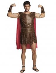 Römischer Krieger-Herrenkostüm Antik für Fasching braun-rot