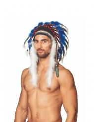 Indianer Häuptlings-Kopfschmuck mit Federn Erwachsene