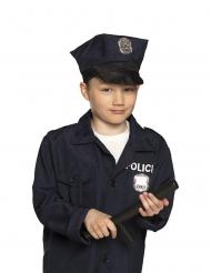 Spielzeug-Schlagstock für Kinder Kostümzubehör schwarz