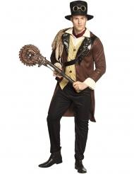 Steampunk Kreissäge für Erwachsen Kostümzubehör 80 cm