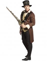 Steampunk Pistolen-Schwert für Erwachsene 84 cm