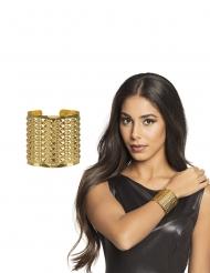 Majestätischer Armreif Kostüm-Accessoire gold