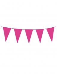 Wimpel-Girlande Partydekoration pink 3m