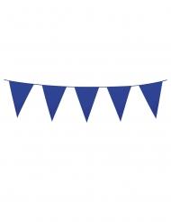 Mini-Girlande Partyzubehör Deko-Artikel blau 3m