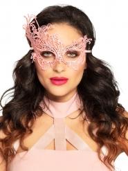 Venezianische Augenmaske für Damen rosa