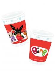 Bing™-Trinkbecher Kindergeburtstag 8 Stück rot-bunt 266 ml
