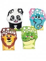 Seifenblasen-Handschuh bunt